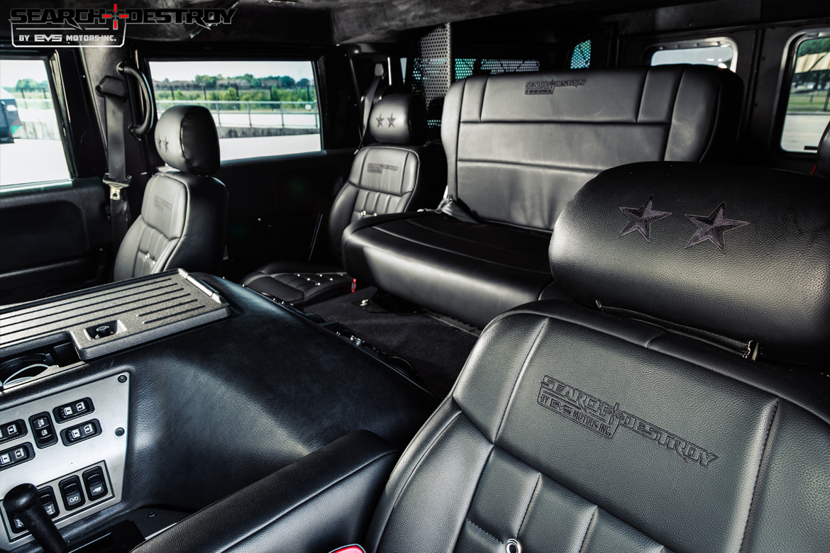 Interior Upgrades For Humvee Electronic